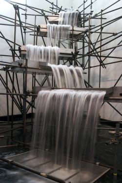 arpeggia:  Olafur Eliasson - Waterfall, 2004 | More posts