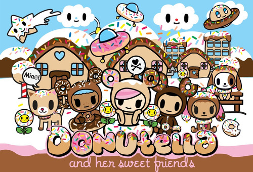 Donutella made friends!! Yay!