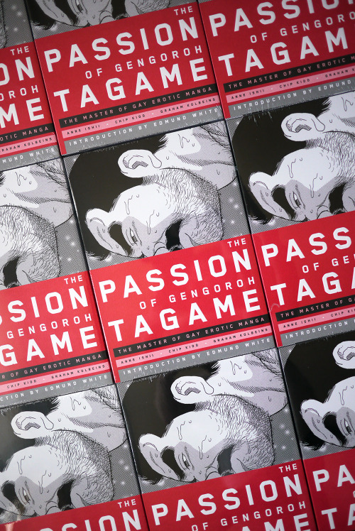 gaymanga:  Win a free copy of The Passion of Gengoroh Tagame: The Master of Gay Erotic Manga! While pre-orders have been shipping out for weeks, today is the official release date of The Passion of Gengoroh Tagame. To celebrate, we're giving away a copy of the book on Gay Manga! All you have to do to enter the giveaway is reblog this post on your Tumblr. You must be 18 or older and reside within the United States to qualify. A winner will be randomly selected from the pool of entrants on Friday, May 3rd at 12:00pm Eastern Standard Time. Good luck!!