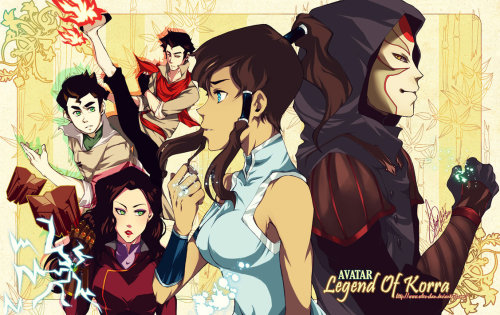 Avatar LoK by seles-chan