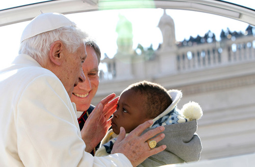 guardian:   Pope Benedict XVI is carrying out his final engagements as head of the Roman Catholic church before flying in a helicopter to a hilltop town where he is expected to spend the next two months. Benedict has been the leader of the Catholic church for eight years and is the first pope to retire since 1415. See a gallery of his final audience. Photograph: Franco Origlia/Getty Images