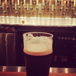 Yumm give me your darkest beer and I'm a happy little Irish chick 🍀 (at Banger's Sausage House & Beer Garden)