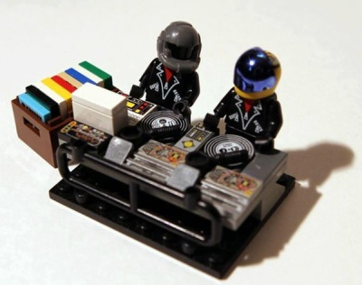 Lego Daft Punk by Jake Meier