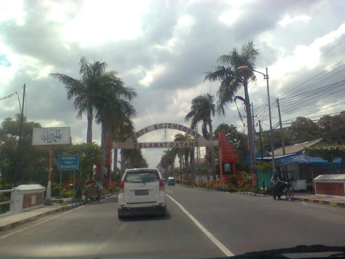 Bojonegoro. Road to Ashraf's wedding.