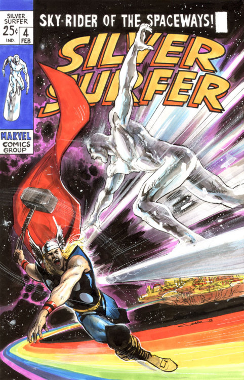 Silver Surfer cover // by Cinar