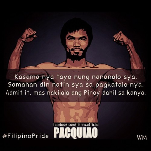 greatestninja:  Agree! #Pacquiao #Filipino #Boxing