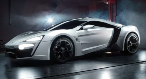 W Motors- Lykan Hypersport $3.4MM