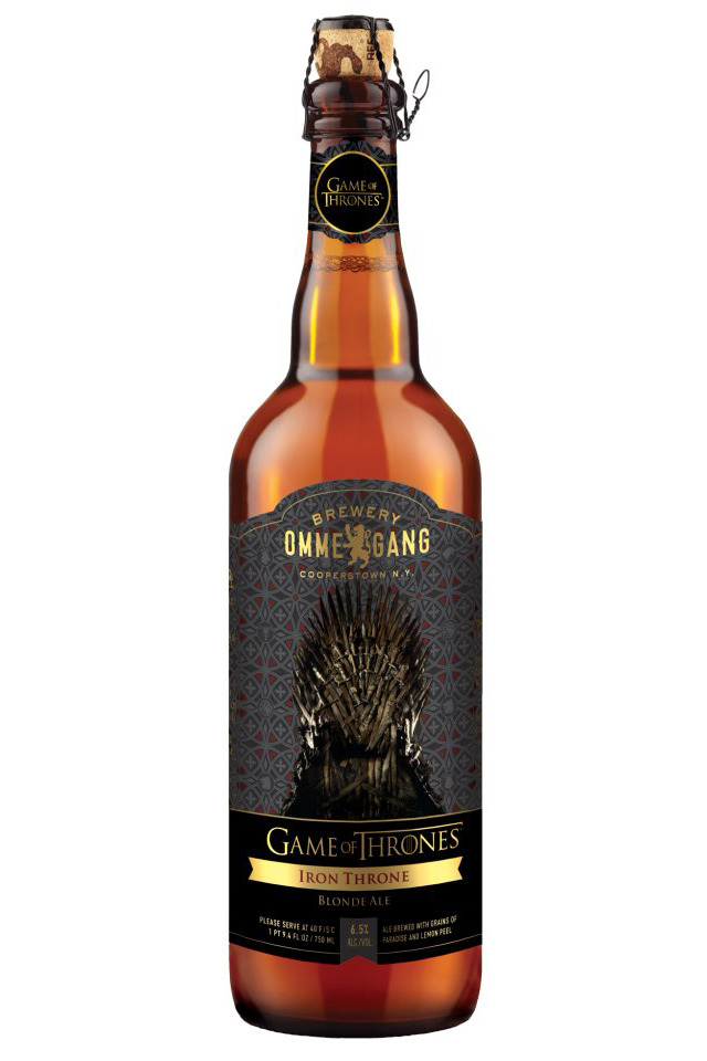 Game of Thrones Beer, A Partnership of HBO & Brewery Ommegang