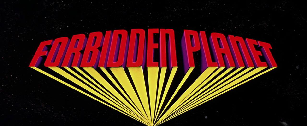 titleshd:  Forbidden Planet (1956) dir. by Fred M. Wilcox