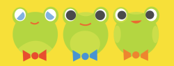 shubbyone:  the gentlemen frogs
