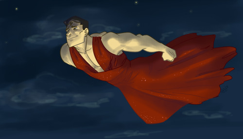 dragleclef:  Why Superman, how lovely you look on your way to the Justice League Prom! Definitely worth the three keys. Done by drtoof