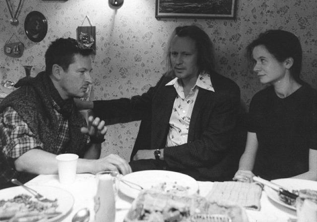 Lars von Trier, Stellan Skarsgård & Emily Watson (Breaking the Waves)