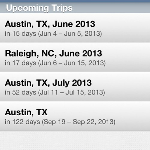 Austin, Texas, I'm coming for you. Lots. / on Instagram http://bit.ly/117Mh73