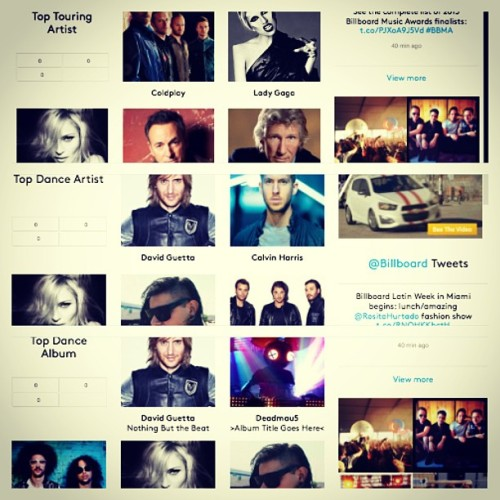 """Dancing Queen"" #Madonna has 3 noms for the #Billboard Music Awards 2013 #BBMA"