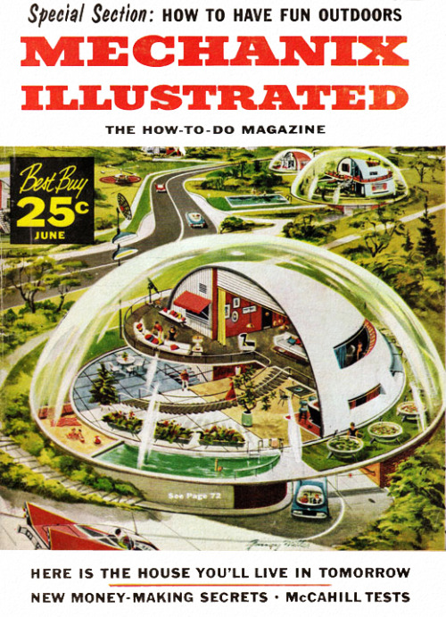 Mechanix Illustrated - June 1957