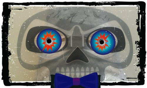 Skull man#android #photograph #photography #Random #skull #photo(from @420michellez on Streamzoo)