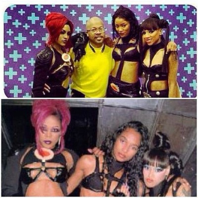 "T-Boz of TLC tweeted a pic of Drew Sidora, Lil' Mama and Keke Palmer in character as TLC for the VH1 biopic, ""Crazy Sexy Cool: The TLC Story"". Read more here…"