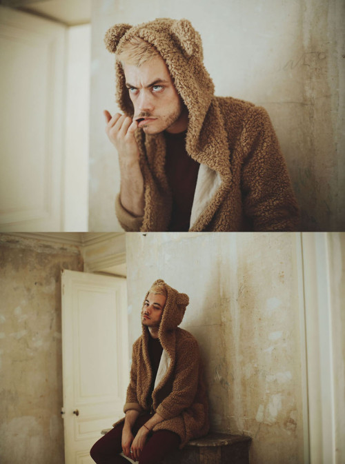 lookbookdotnu:  Bad Pooh (by CLEMENT LOUIS .)