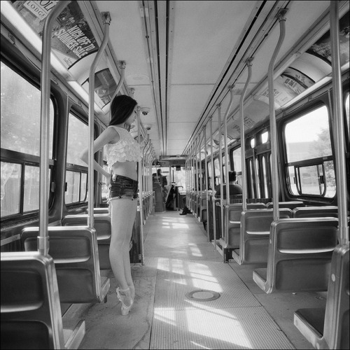 ballerinaproject:  Alys - TTC Street car Help support the Ballerina Project and subscribe to our new website  Follow the Ballerina Project on Facebook For information on purchasing Ballerina Project limited edition prints.