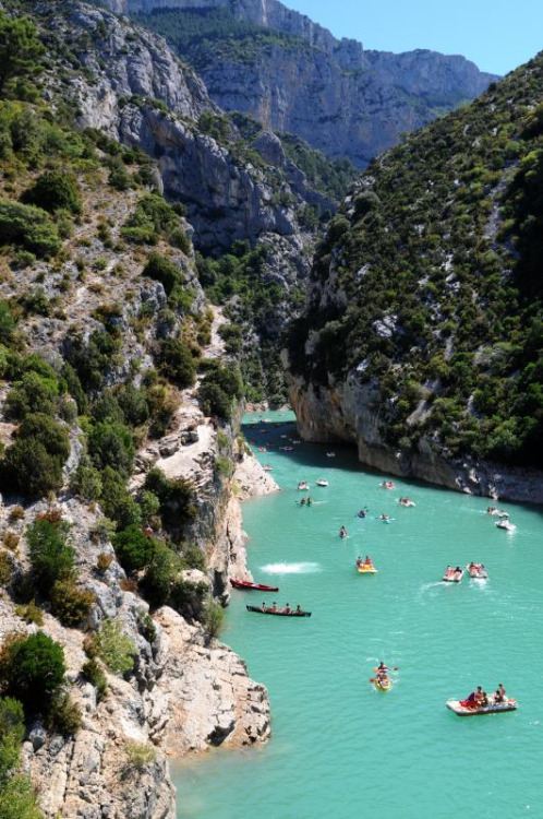 allthingseurope:  Verdon Gorge, France (by koen_photos)  favourite place in Provence