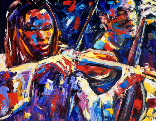 """Strings of Jazz"" by Debra Hurd"