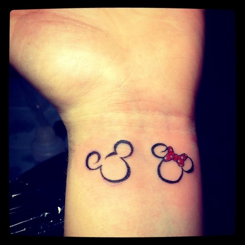 disneyink:  My disney tattoo!! Absolutely love disney so it's to show my love for it :)