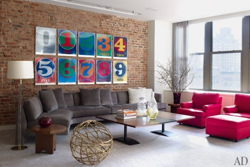 Will Ferrell's Laid-Back New York Loft : Architectural Digest I don't know why, but I was really expecting it to be fratastic.