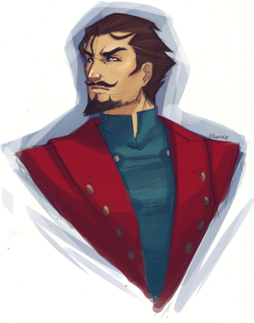 xluckbealadyx:  //Whacked some colour on a Young!North warm-up sketch~ Hopefully the balance isn't weird, but sorry if it is - I use a laptop and that's basically the same as being colour blind щ(ಠ益ಠщ)
