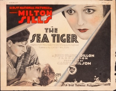 Title card for The Sea Tiger (1927). Sold here.