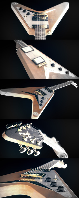 series Flying V Korina