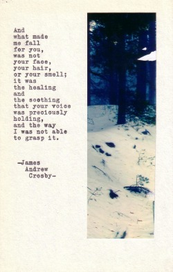 jamesandrewcrosby:  Typewriter Poetry #206 by James Andrew Crosby