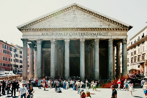 schzimmydearr:  The Pantheon, Rome 2012 by JMWTurner on Flickr.