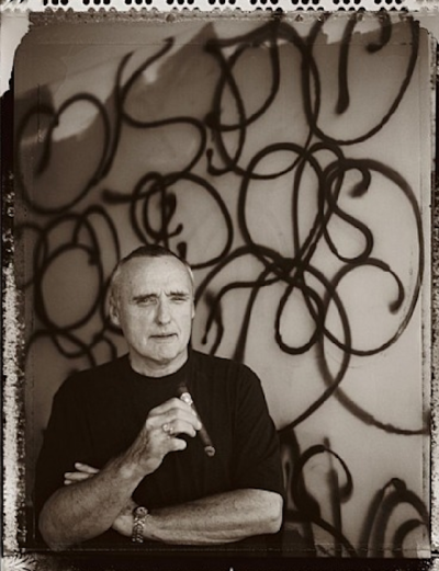artnet:  Happy Birthday Dennis Hopper Dennis Hopper, born on this day in 1936, wasn't just an Academy Award-nominated actor, director, screenwriter, and notorious bad boy. He was also a visual artist who created acclaimed photographs, paintings, and prints. Unsurprisingly, Hopper's photographs have a casually cinematic quality to them, especially when he focused on his famous friends and fellow artists—such as portraits of James Rosenquist, Roy Lichtenstein, and Andy Warhol.