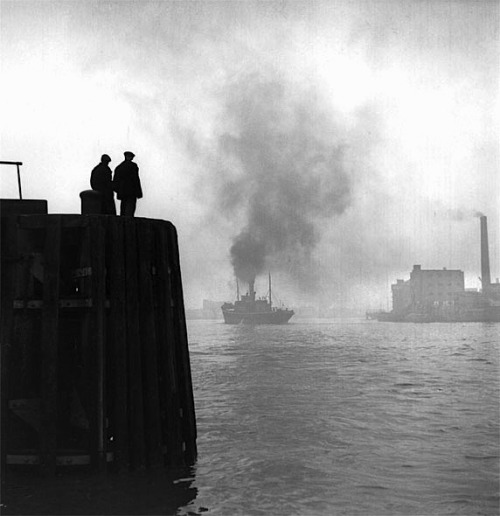 luzfosca:  Bert Hardy  The Pool of London, 1949