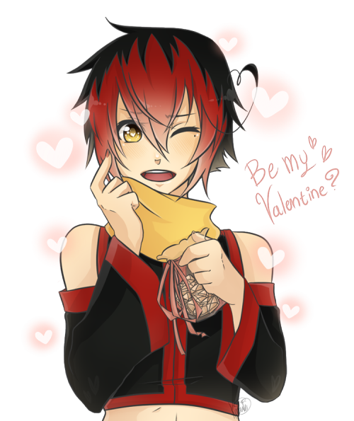 HAPPY VALENTINES GUYS!ChuChuChuuu~~ <3