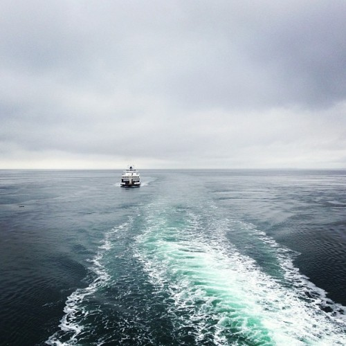 Island Bound. #peaceout (at Vancouver Island Ferry)