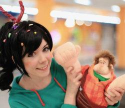 cosplay-photography:  wreck-it Ralph by *Tenori-Tiger