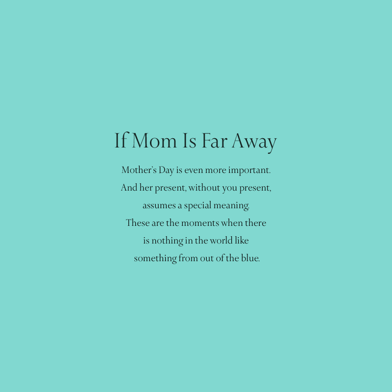 If mom is far away… Find a Tiffany store near you