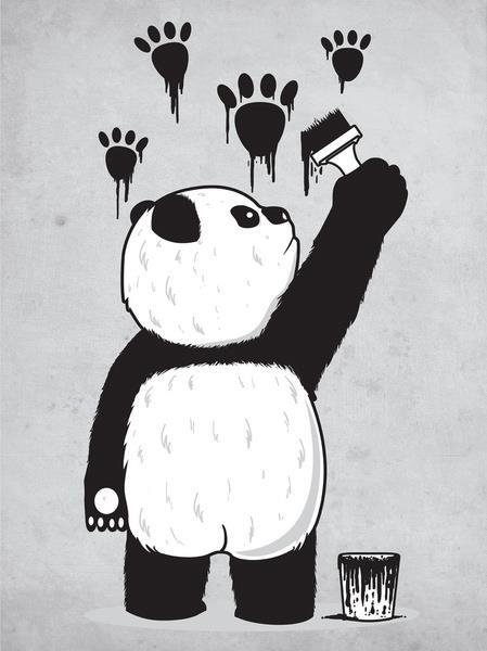 irresistibile:  Fuck you, I'm a panda.