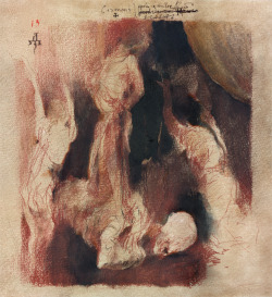 denisforkas:  Denis Forkas Kostromitin - Covenant (composition sketch). 2013