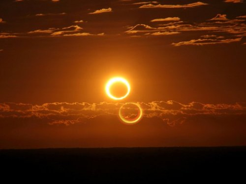 'Ring of Fire' solar eclipse puts on a dazzling show in Australian Outback (Photo: Nicole Hollenbeck) SYDNEY — Skygazers across the Australian Outback were among the lucky few to witness a solar eclipse on Friday as the moon glided between Earth and the sun, blocking everything but a dazzling ring of light. Read the complete story.