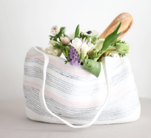 Craft It: Rope Bag by Style Me Pretty