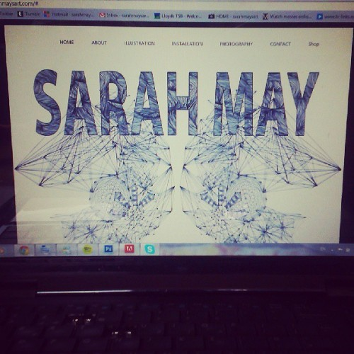 New updates, looking for new projects www.sarahmaysart.com