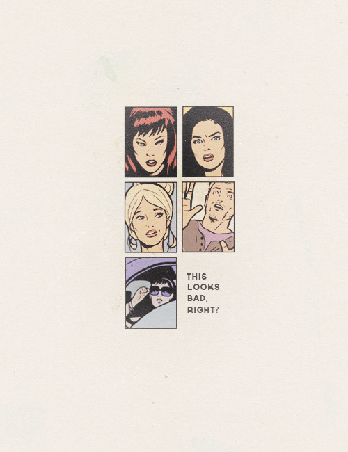 """Clint Barton, ladies and gentlemen. The ever-unchanging Clint Barton."""