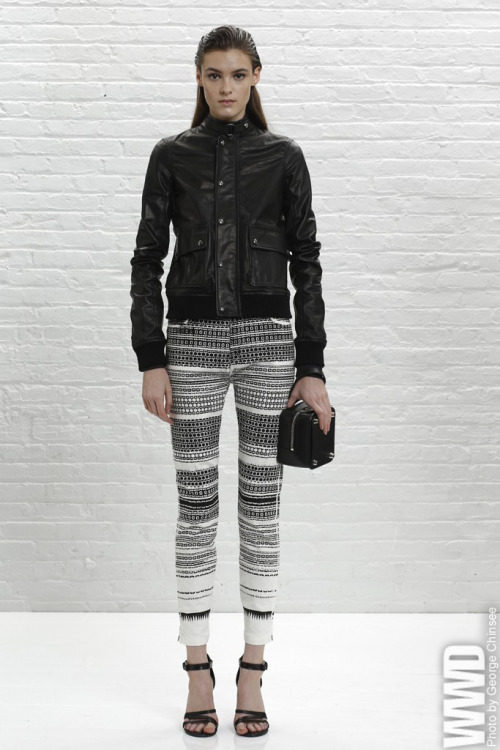 womensweardaily:  Diesel Black Gold Resort 2014 For his third outing, creative director Andreas Melbostad looked to workwear and uniforms for inspiration.  For More