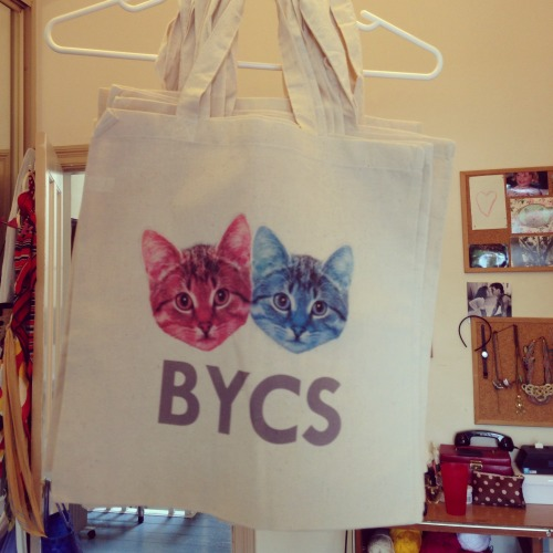 New canvas tote bags have arrived!