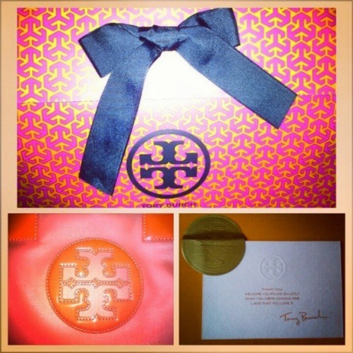 My love for Tory Burch! #gorgeous #poppyred