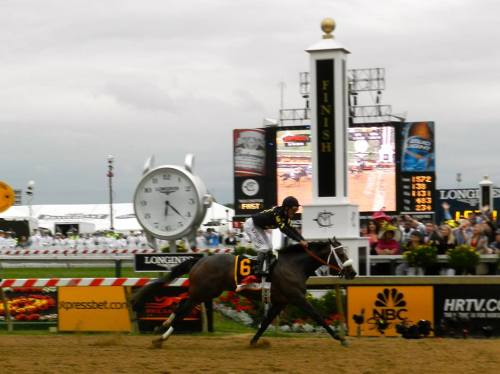 racinglegends:  Oxbow wins the 138th Preakness Stakes . May 18, 2013 Congratulations to owner Calumet Farm, trainer D. Wayne Lukas and jockey Gary Stevens.  Congratulations to Oxbow and connections.  I think my main learning from this is to always oppose the Kentucky Derby winner in the Preakness as their odds will always be artificially short due to the desperation to see a Triple Crown winner… fair?