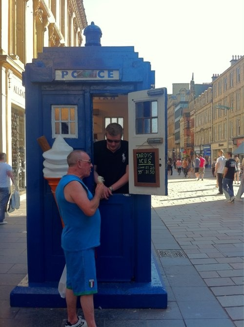 Tardis Ice Cream!!!