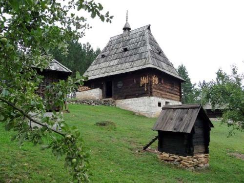Serbia staro selo Architecture house wooden house interior brvnara